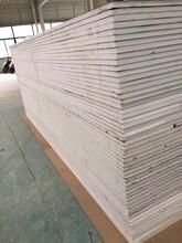 杭州聚氨酯封边玻璃丝棉夹芯板厂家图片