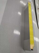 溫州聚氨酯封邊玻璃絲棉夾芯板廠家圖片