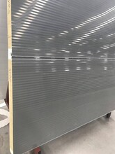 福州聚氨酯封邊玻璃絲棉夾芯板價格圖片