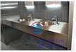 浙江丽水不锈钢小便槽池洗手槽池厂家订做安装