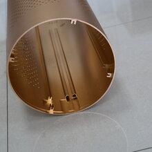 鼎杰铝业专业开发生产挤压净化器,电脑支架铝型材