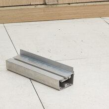 厂家生产角码,连接件,广告灯箱铝型材精加工图片