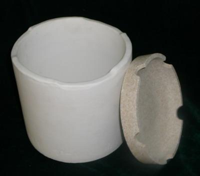 耐腐蚀匣钵坩埚耐酸碱性匣钵供应用高镍三元5G系列烧结坩埚钛酸钡MLCC系列