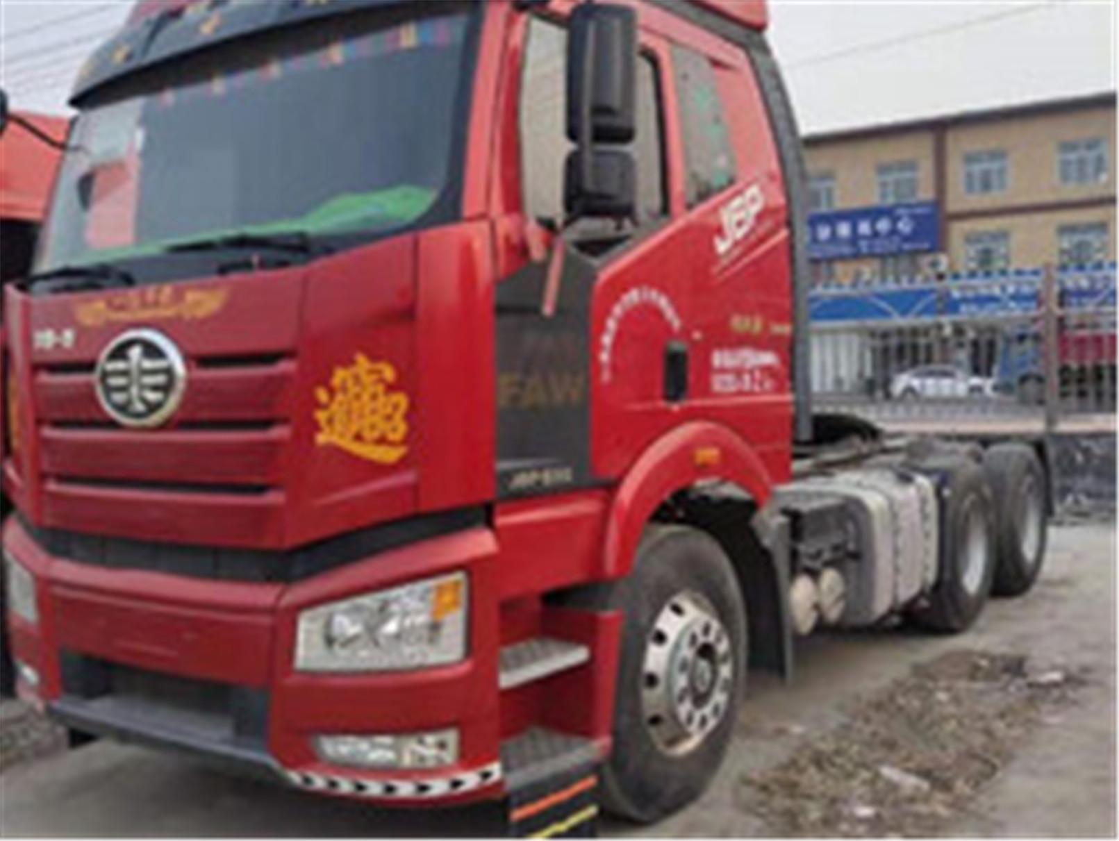 出售解放j6东风天龙双驱480马力货车