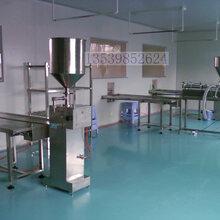 厂家最新供应沙拉酱灌装机半自动膏体灌装机图片