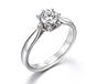 gia钻石4c分级正东珠宝裸钻定制婚戒设计加工