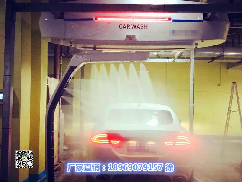 安装电脑洗车机需要的尺寸全自动电脑洗车机场地要求