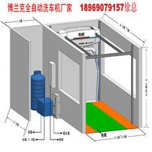 洗车机安装尺寸图安装一套全自动洗车机需要多少尺寸图片