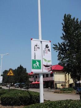 铝合金灯杆道旗架道路广告牌