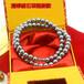 高档银灰磁珠项链量子磁项链银白色磁珠项链会销礼品