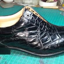 广州鞋厂生产高品质高端真皮大底正装商务男皮鞋
