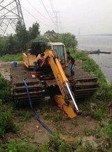 成都市高新区水陆两用挖掘机出租水上挖掘机出租