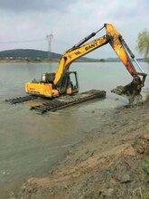 新产品徐工200型水上清淤挖掘机出租水上挖机出租服务有保证