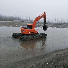2019银川市湿地挖机出租水陆两用挖掘机出租服务实务
