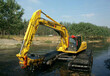 曲靖市江南科技水陆挖机出租水上清淤挖机出租服务周到