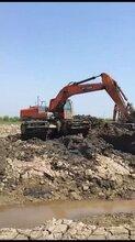 重庆市云阳周边湿地挖机出租水陆挖机出租