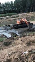 重庆荣昌周边湿地挖机出租水上挖机出租江南服务及时