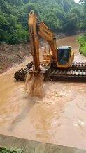 清淤机械设备出租水上挖机租赁重庆市南川附近