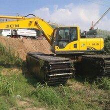 水上挖机租赁清淤机械出租四川温江周边