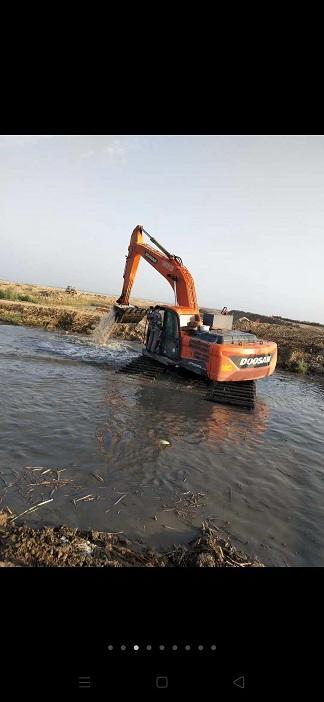 启东海门水上挖掘机出租淤泥清理