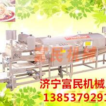全自动圆形凉皮机生产线仿手工凉皮食品加工机械图片