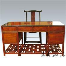 红酸枝大班桌价格红木文化传承大师王义设计红酸枝大班桌新款大班桌