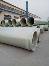 内蒙古阿拉善玻璃钢缠绕夹砂管道安装做法_实力厂家
