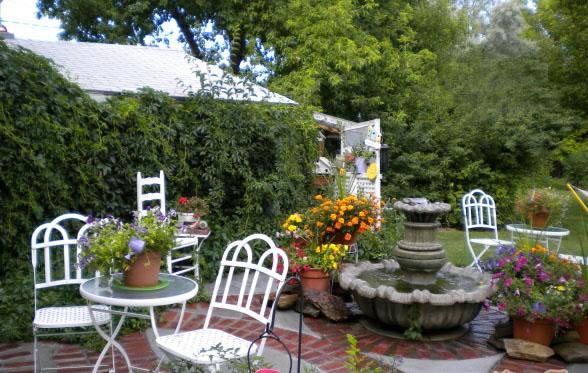 莞城欧式别墅花园,古典花园设计