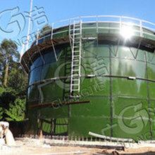 江门广洁环保技术开发有限公司供应搪瓷拼装罐沼气池设备