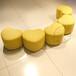 百佳贝迪爱心凳心形凳时尚皮凳优质皮凳儿童凳家居皮凳