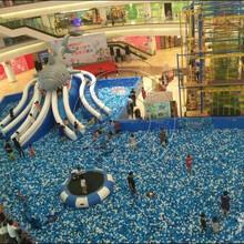 易欣淘气堡充气海洋球池大型室内外海洋球池幼儿园球池
