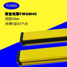 红外光栅安全光幕传感器光电红外对射光栅光幕保护装置FWGM40系列图片