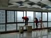 渭南高空清洗安装大楼外墙清洗玻璃幕墙清洗