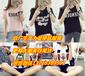 陕西哪里有便宜库存尾货服装批发韩版女装T恤女士短袖清货