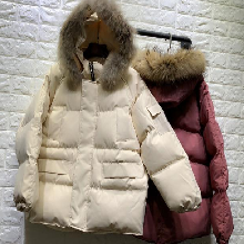 石家庄便宜棉衣女装外套羽绒服清货便宜棉服清货15元处理图片