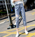 便宜牛仔褲時尚韓版女士小腳褲九分褲清貨女裝牛仔褲清倉