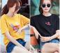 南京便宜女装短袖T恤圆领打底衫清货纯棉T恤夏季服装批发