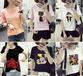 銅仁便宜服裝韓版T恤夏季時尚新款女士短袖地攤貨批發純棉T恤