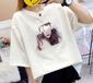 南寧便宜服裝夏季短袖純棉T恤批發庫存服裝便宜女士上衣