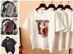 便宜女士短袖清貨純棉T恤幾元庫存服裝處理便宜T恤批發
