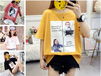 江苏扬州便宜女装T恤夏季短袖清货库存服装批发5元以下清