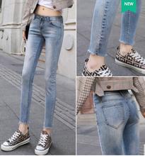 廣州便宜牛仔褲便宜高腰牛仔褲清貨,韓版牛仔褲,高彈牛仔褲圖片