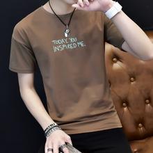 廣州便宜男士上衣,地攤貨批發,韓版男裝便宜T恤男裝T恤清貨圖片