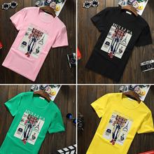 廣州便宜男士T恤韓版男裝短袖圓領休閑男裝T恤清貨5元以下圖片