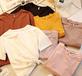 便宜時尚女士半袖韓版T恤清貨5元以下服裝純棉短袖低價清