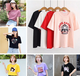 杭州批发市场清货便宜T恤夏季短袖韩版女士上衣纯棉T恤清