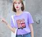 福州便宜女士T恤韩版女装宽松大码短袖尾货T恤批发5元以下