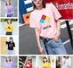 貴州六盤水便宜服裝韓版女士T恤夏季短袖便宜T恤清貨5-10元