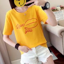 徐州便宜服装女士T恤便宜尾货纯棉T恤批发工厂低价清货