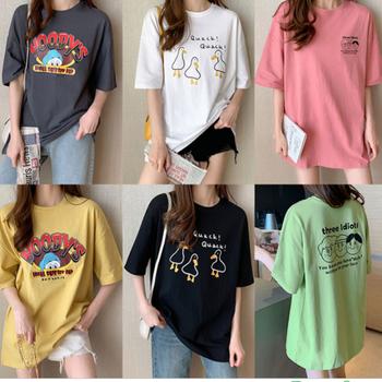 河北純棉短袖T恤批發女士短袖時尚短袖廠家短袖批發